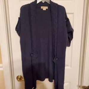 Michael Kors navy cardigan
